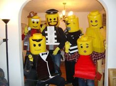 DIY Yourself Lego Halloween Costume ~ Damn Cool Pictures
