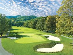 Romance: The Greenbrier Resort in White Sulphur Springs, West Virginia