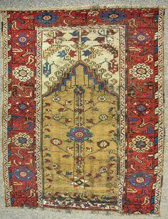 ANATOLİAN PRAYER CARPET Persian Carpet, Persian Rug, Turkish Kilim Rugs, Turkish Carpets, Art Chinois, Art Japonais, Prayer Rug, Kilims, Home Rugs
