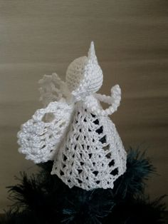 Crochet Pattern PDF Crochet Angel PATTERN This beautiful crochet Angel will look beautiful on your Christmas trees or it can be a lovely gift for