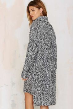 Deal With Knit Sweater Dress - Day | Pullover