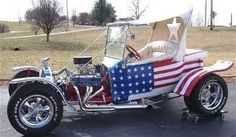 Oh so cool! Forth of July ride!!