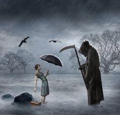 Encountering death