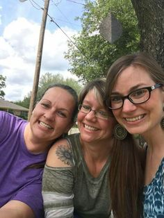 Me, Aunt Jen and Aunt Tiffany 2017