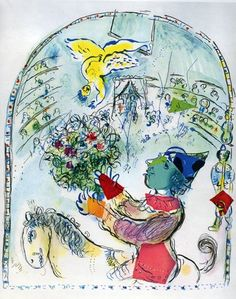 Marc Chagall, The Circus with the Angel