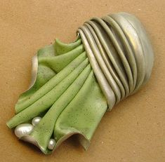 Pearl Studded Fan Brooch | Flickr - Photo Sharing!