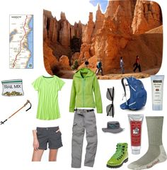 """Another good hiking outfit - """"take a hike"""" by debbie84015 on Polyvore"""
