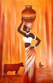 Resultado de imagen para cuadros y laminalar africanas