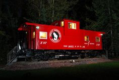 jj-caboose -This is to die for. You absolutely must click through and look at the pics of the inside. Marvelous!