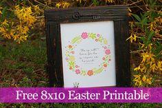 Free Easter Printable #easter #printable