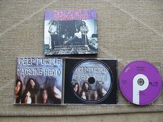 DEEP PURPLE Machine Head 25th Anniversary Edition 1997 Bonus Remixes DoCD