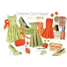Pantone Fall 2013 Color Report - Linden Green & Koi