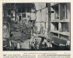1905 Hundimiento finca Jacometrezo. Trabajos de desescombro y consolidación
