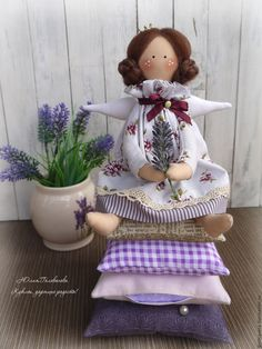 """Fabric doll / ТИЛЬДА Принцесса на горошине """"Лавандовая"""" тильда принцесса - Принцесса на горошине, принцесса тильда, тильда"""