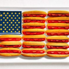 These 17 flags made of food will make you ravenously hungry to good to eat ok