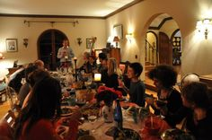 """From the blog, """"Reading Proust in Berkeley"""" March 2013. """"Photos from the Proust Dinner-- Lucie took some photos at our halfway up the mountain Proust Dinner last week."""" TC"""