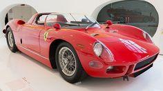 Ferrari 330P 0818 exhibited at the Museo Casa Enzo Ferrari in 2013