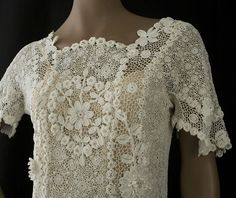 MyPicot | Free crochet patterns. Irish Lace history and examples to drool over