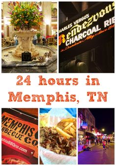 24 hours in Memphis