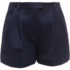 3.1 PHILLIP LIM Shorts with Lurex Dots (560 CAD) ❤ liked on Polyvore featuring shorts, pants, sortsit, 3.1 phillip lim, 3.1 phillip lim shorts and polka dot shorts