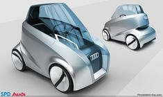 Audi Capsule is a small compact single seater concept transportation by Francisco Calado. It is idealized for 2025 made during SPD master´s in Benz E, Mercedes Benz, Big Data, Audi, Preppy Car Accessories, E Mobility, Weird Cars, Crazy Cars, Futuristic Cars