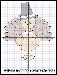 Thanksgiving Coordinate Graphing Mystery Pictures!! Tons of fun and my kids LOVE them! They look cute hanging on the wall too!! $