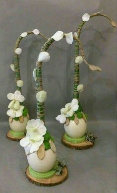 ♥ ~ ♥ Spring into Easter ♥ ~ ♥ Arte Floral, Deco Floral, Floral Design, Easter Flower Arrangements, Easter Flowers, Floral Arrangements, Ikebana, Diy Easter Decorations, Flower Decorations