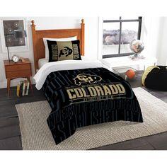 Colorado Buffaloes The Northwest Company Modern Take Twin Comforter Set