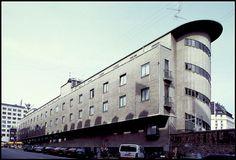 Hotel Astoria, Copenhagen. Ole Falkentorp (1935)