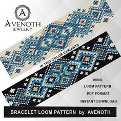 Irresistible Embroidery Patterns, Designs and Ideas. Awe Inspiring Irresistible Embroidery Patterns, Designs and Ideas. Loom Bracelet Patterns, Bead Loom Bracelets, Bead Loom Patterns, Peyote Patterns, Stitch Patterns, Jewelry Patterns, Color Patterns, Jewelry Ideas, Knitting Patterns