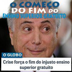 IRAM DE OLIVEIRA - opinião: O'Globo prega retrocesso do ensino superior no Bra...