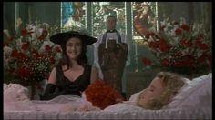 Shannen Doherty, Glenn Shadix, and Kim Walker in Heathers (1988)