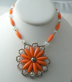 Orange Blossom collier Squash