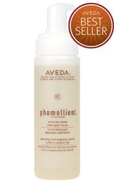 Phomollient: lightweight styling foam, creates weightless volume, light hold with shine.I love this stuff! I have a huge bottle of it at home.