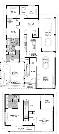 The Pompeii Floorplan by National Homes