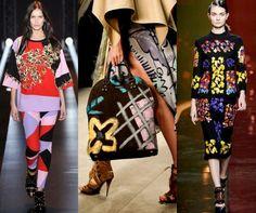 Fashion Week Breaking Trends Fall 2014: Arts & Crafts - Accessories Magazine - Fausto Puglisi, Burberry Prorsum, Peter Pilotto