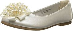 Flats with Crystal Bead Bow