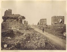 Appia Antica Monument Valley, Roman, Military, Architecture, Nature, Travel, Pompeii, Viajes, Old Photography