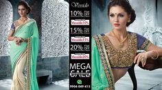 Last Few Days Remaining for the Mega Sale. This weekend your shopping destination can't be better than Vessido. Shop for designer saree, wedding saree, party wear saree and more at https://www.vessido.com/product-category/all/sarees/   #onlinestore #shopping #megasale #clothing