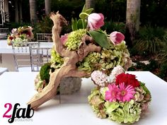 This is an arrangement we made for a first communion <3 www.facebook.com/2fabproductions