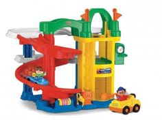 The fisher price little people racin ramps garage is a must-have addition for any toddler who love to play with cars.