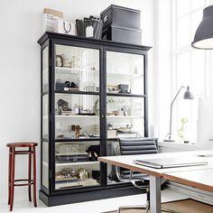 The Design Chaser: Katrin Bååth | Studio Crush Wardrobe Solutions, Painted Furniture, Furniture Design, Retail Design, Kitchen Kapers, China Cabinet, Creative Decor, Storage Cabinets, High Ceilings