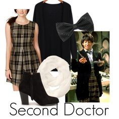 the second doctor by katwhisky on Polyvore featuring мода, Emerald Sundae, Nly Shoes, Athleta and doctorwho