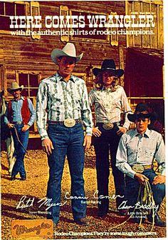 vintage Wrangler jeans print ad - Google Search