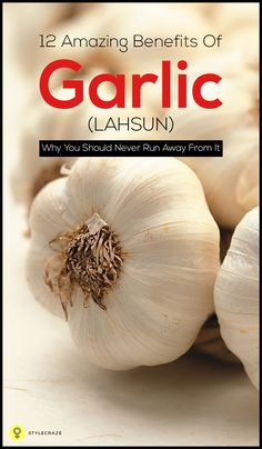 Garlic, though it is yuck for most of us, it should not be ignored for its amazing health & beauty benefits. Listed are beauty benefits of garlic along with health benefits. Healing Herbs, Medicinal Herbs, Healthy Tips, Healthy Recipes, Healthy Eating, Garlic Juice, Garlic Benefits, Juicing For Health, Health Foods