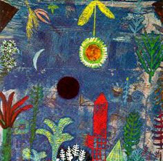 Paul Klee - Versunkene Landschaft, 1918