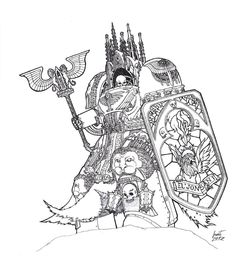 Ossorius, The Sanctum - Dark Angels Reclusiarch..my back is a church!! your arguments is invalid...warhammer 40k