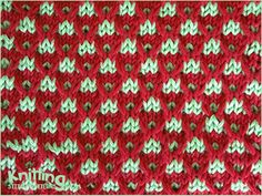 The Slip stitch Crosses stitch pattern is looks very unique when two contrasting colors are combined and is not difficult as looks. Knitted in a multiple of 6 sts and a repeat. Slip Stitch Knitting, Knitting Stiches, Crochet Stitches Patterns, Arm Knitting, Knitting Charts, Cross Stitch Patterns, Knitting Patterns, Mosaic Knitting, Stitch Book