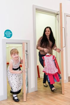 Our fabulous mummy and me changing rooms.