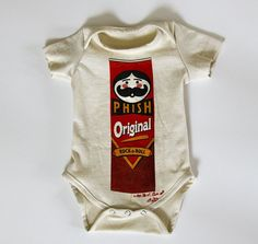 Phish Lot Shirt T Shirt Recycled Baby Onesie